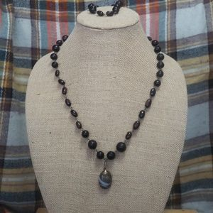 Jewelry - Vintage Seed bead, bracelet and necklace set